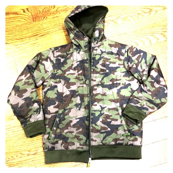 The North Face Other - North Face Reversible camo Jacket